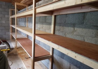 quality shed shelving kerry