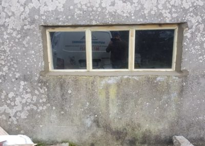 shed window after